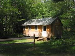 One of our private cabins, Tapley.
