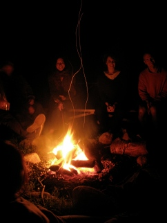 Campfire times.